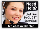 Online chat link